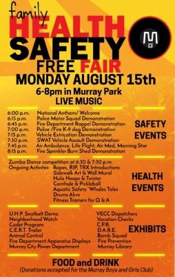 Murray City Family Health and Safety Fair