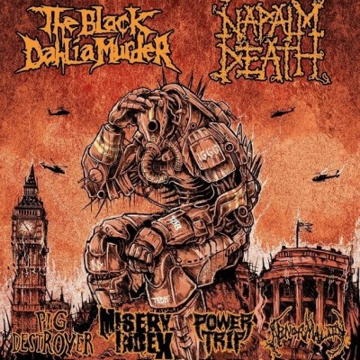Napalm Death and The Black Dahlia Murder