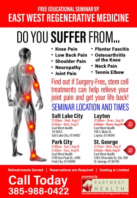 Park City Lunch and Learn: Stem Cell Therapy