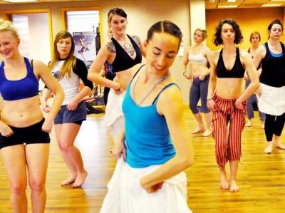 Samba Fogo Beginning Dance Workshop