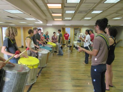 Samba Fogo Drum Workshop #2