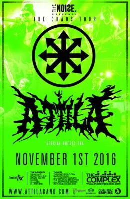 Attila: The Chaos Tour