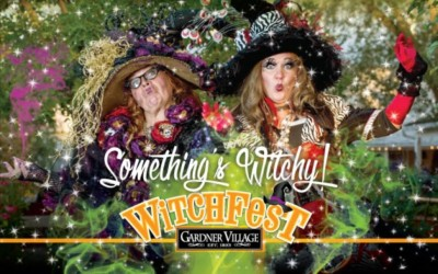 Witch Displays and Witch Scavenger Hunt