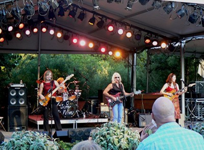 Blues and BBQ Night: Sister Wives Band