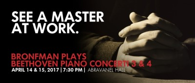 Bronfman Plays Beethoven Piano Concerti 3 and 4