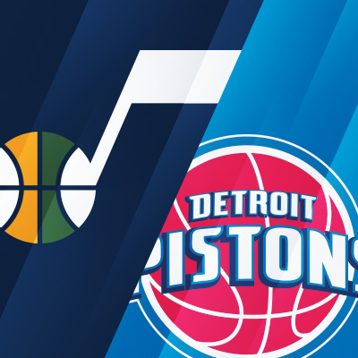 Utah Jazz vs. Detroit Pistons