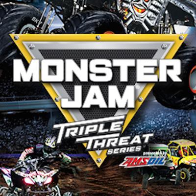 Monster Jam Triple Threat Series presented by AMSOIL