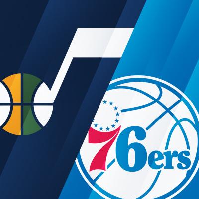 Utah Jazz vs. Philadelphia 76ers
