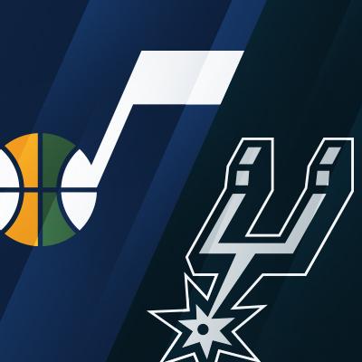Utah Jazz vs. San Antonio Spurs