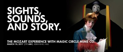 The Mozart Experience with Magic Circle Mime Co.