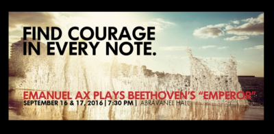 Emanuel Ax Plays Beethoven's Emperor