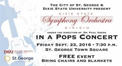 DSU Symphony Orchestra Pops Concert