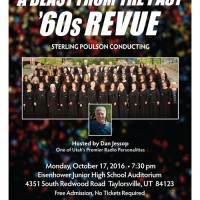 A Blast from the Past! '60s Revue with the Choral Arts Society of Utah