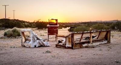 Benny van der Wal - Desert Landscapes