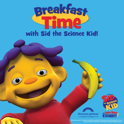 Breakfast Time with Sid the Science Kid!