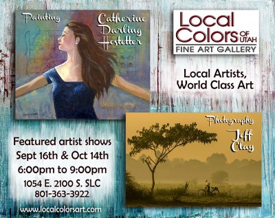 Local Colors Featured Artists Show with Jeff Clay and Catherine Darling Hostetter