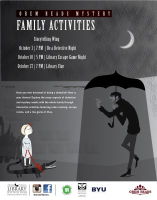 Orem Reads: Family Activities