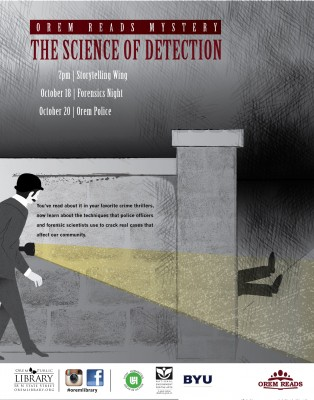 Orem Reads: The Science of Detection