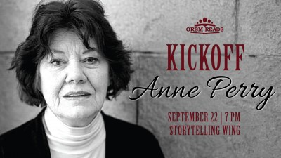 Orem Reads Kickoff: Author Anne Perry