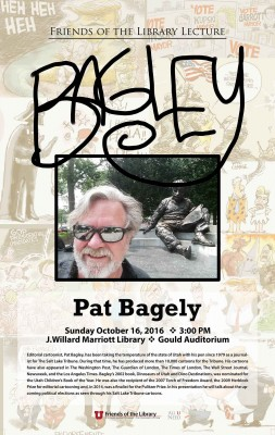 Pat Bagley - Friends of the Library Lecture