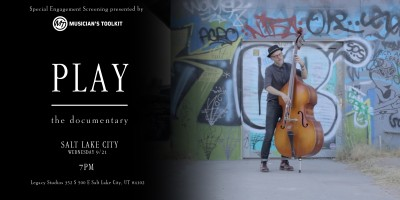 Play: The Documentary Salt Lake Premiere