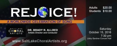 Rejoice! A Worldwide Celebration of Song