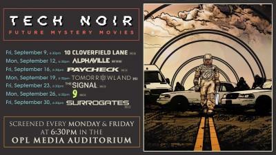 September Film Screenings: Tech Noir/Future Mystery