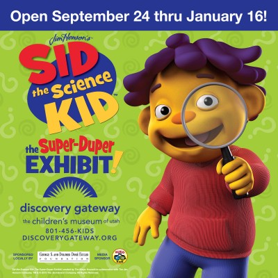 Sid the Science Kid! Exhibit Opening
