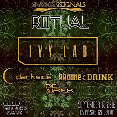 Smoke Siignals Presents Riitual with IVY LAB