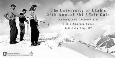 The University of Utah's 26th Annual Ski Affair Gala