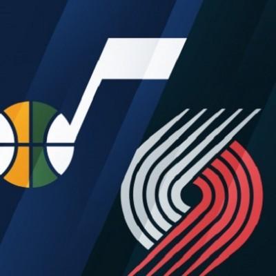 Utah Jazz vs. Portland Trailblazers