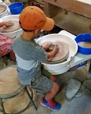 Wheel Throwing for Kids II