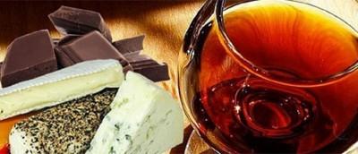 Wine, Blue Cheese and Chocolate Pairing