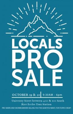 Locals Pro Sale University of Utah Block Party