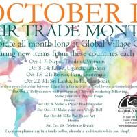 Fair Trade Month Art Activities