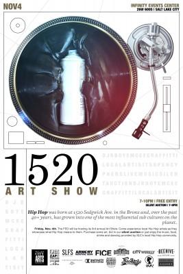 1520 Art Show - HERC Fundraiser