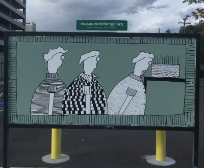 Celebration of the Hand - Street Art Exhibit