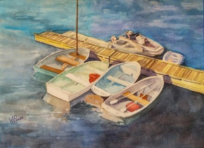 Choose Your Own Medium: Pastel and Watercolor