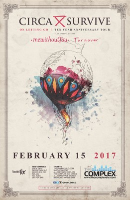 Circa Survive: On Letting Go 10 Year Tour