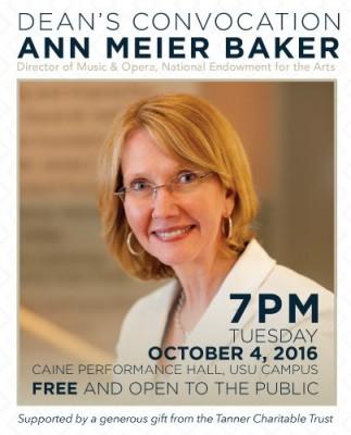 Dean's Convocation with Ann Meier Baker