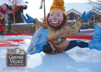 Elf Displays and Scavenger Hunt at Gardner Village