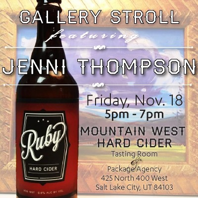 Gallery Stroll Featuring Jenni Thompson