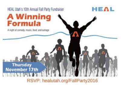 Heal Utah's Tenth Annual Fall Party