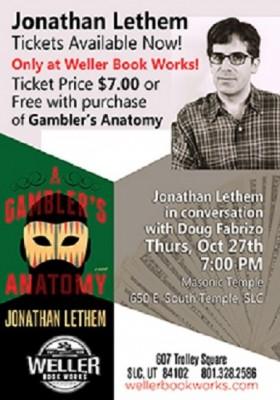 Jonathan Lethem: The Gambler's Anatomy