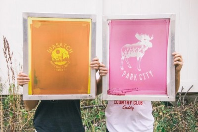 Local's Special: Screen Printing and Wine Drinking Workshop II