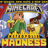 Minecraft Metropolis Madness by Super League Gaming in Salt Lake City