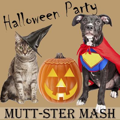 Mutt-ster Mash: Halloween Party