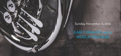 NOVA Chamber Music Series: Early Brahms and a World Premiere