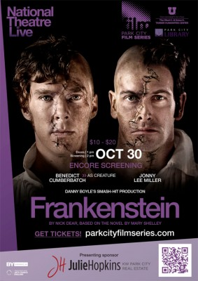 National Theater Live Presents Frankenstein (Encore) Park City