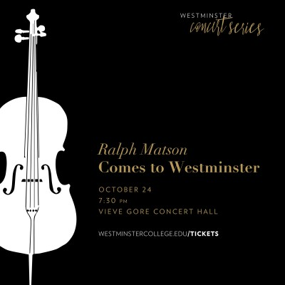 Ralph Matson Comes to Westminster